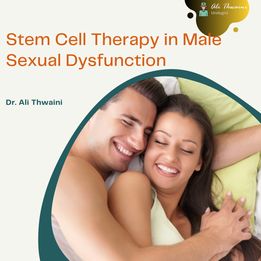 Stem Cell Therapy in Male -Dr.Ali Thwaini