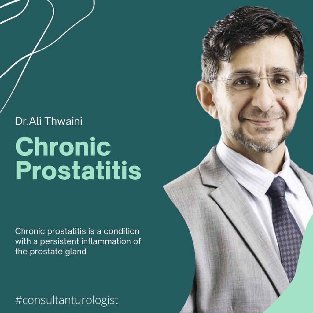Chronic prostatitis dr ali thwaini
